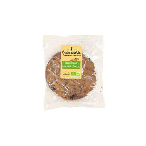 Maxi Cookie Raisins Choco 80g